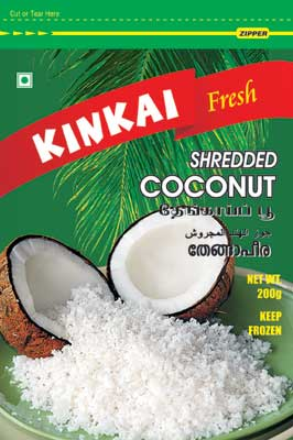 Frozen Grated Coconut
