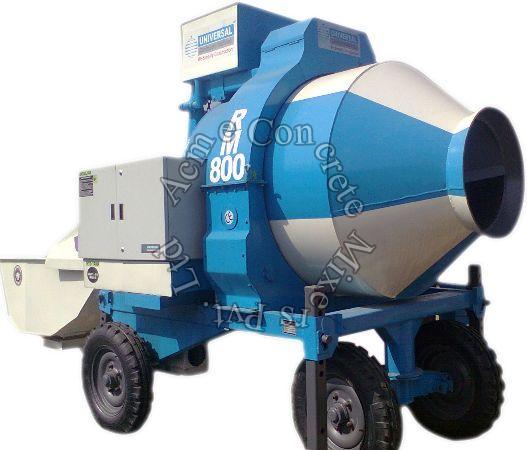 Concrete Mobile Batching Machine (RM800, 1050 & 1400)