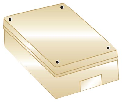 PVC Surface Box