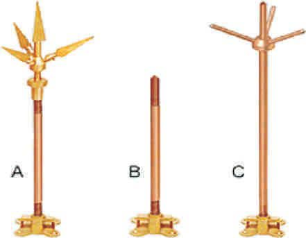 Terminal Base Aerial Rod