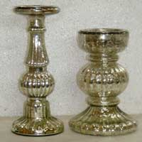 Glass Candle Stand (AC - CS - 249)