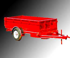 Non Tipping Tractor Trailer Manufacturer