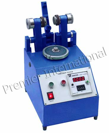 Rubber Abrasion Tester