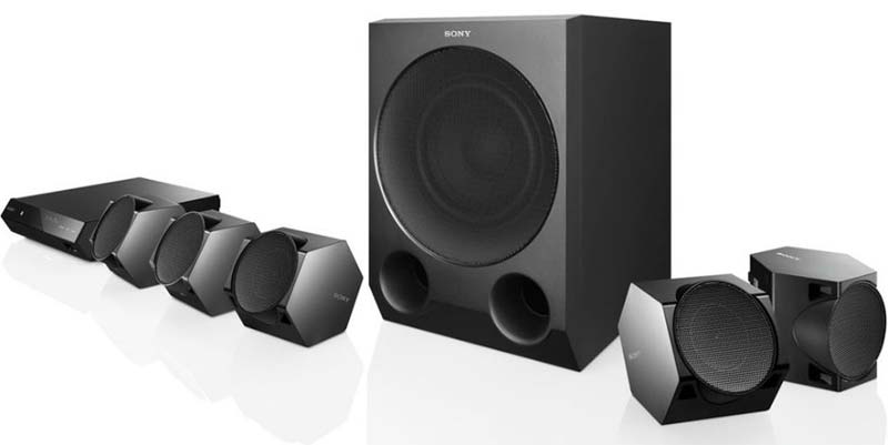 Wired Home Theatre System