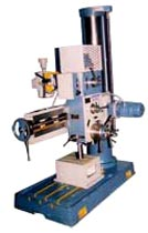 Semi Geared Radial Drill Machine