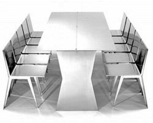 Stainless Steel Dining Table Set Part 30