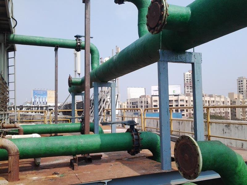 FRP Anti Corrosion Coating
