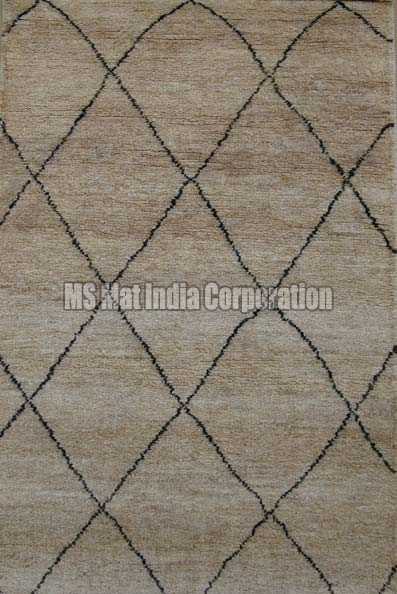 Hand Knotted Jute Carpet