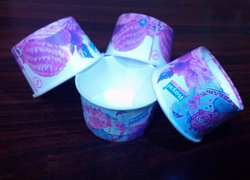 Poly Coated Paper Ice Cream Cup
