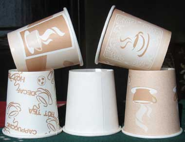 Poly Coated Paper Tea Cup Paper Cups Paper Coffee Cups