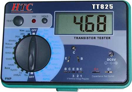 Digital Transistor Tester