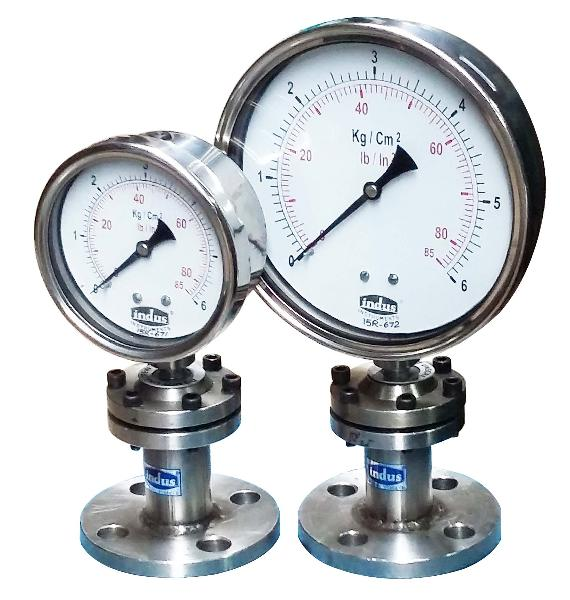 Sealed Diaphragm Pressure Gauge