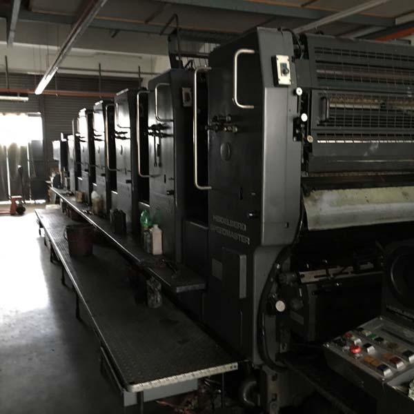 Sheet Fed Offset Machine (Heidelberg SM 102-F+L)