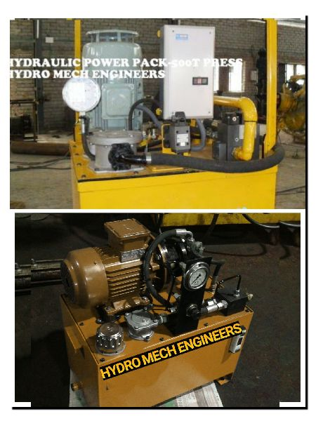 Hydraulic Power Pack Press