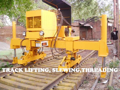 Hydraulic Track Lifting and Slewing Machine