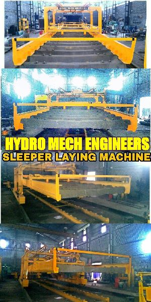 Sleeper Laying Machine