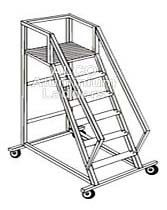 Aluminium Platform Step Ladder (Model AL. 112)