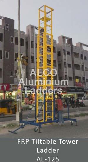FRP Tiltable Tower Ladder