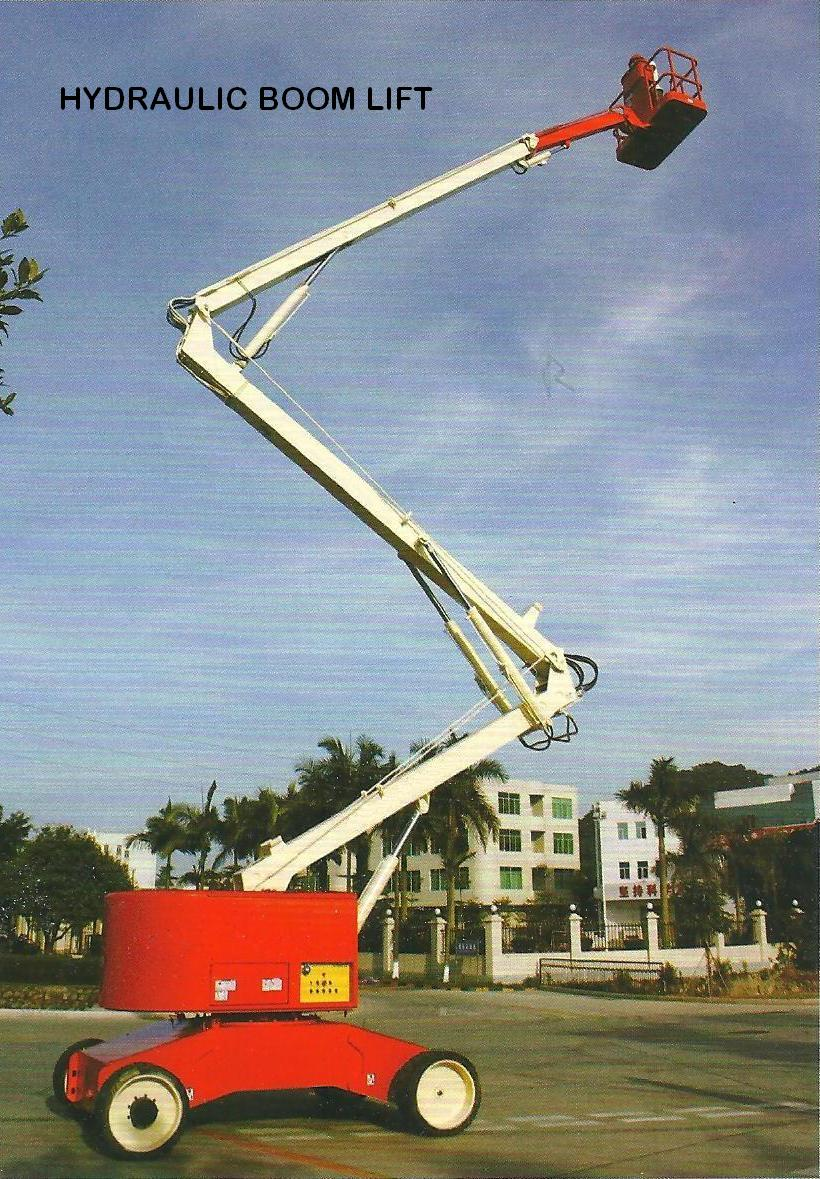 Construction Boom Lift Hydraulic : Hydraulic boom lifts manufacturer