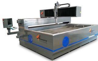High Precision CNC Water Jet Cutting Machine