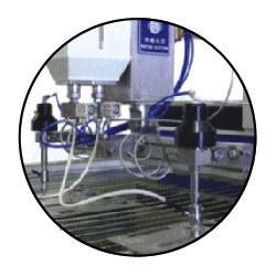 Multi Head Water Jet Cutting Machine