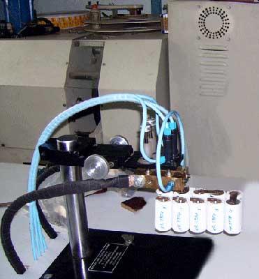 Battery Tab Welder