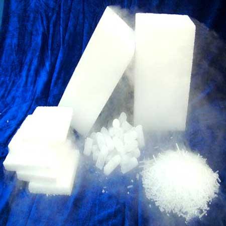 Frozen Dry Ice