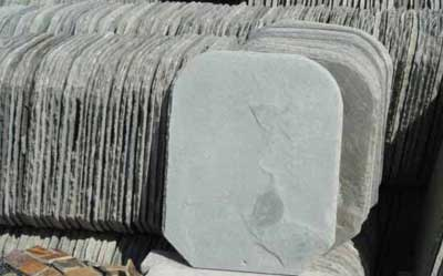 Grey Roofing Stone