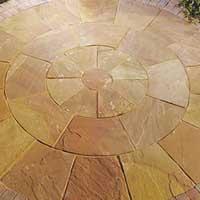 Modak Sandstone Circle Stone