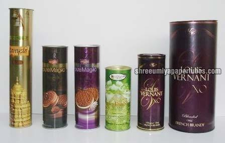 Paper Tube Tin & Container