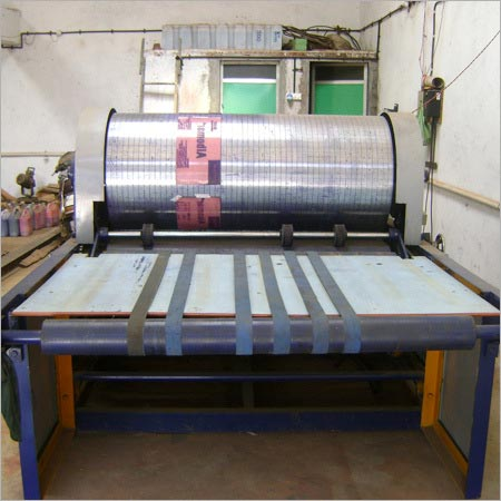 Single Colour Printing Machine