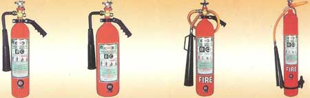 High Pressure CO2 Fire Extinguisher