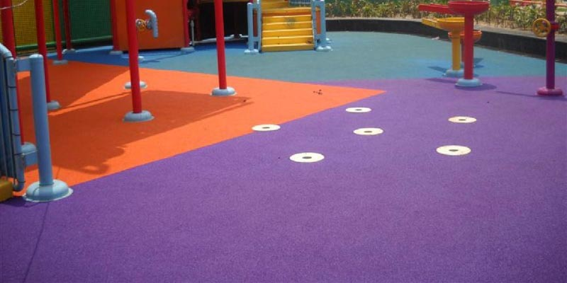 Children's Play Area Rubber Flooring