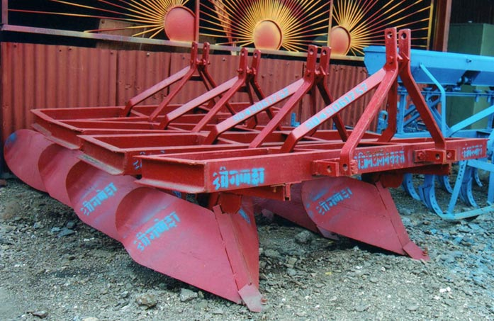 Tractor Driven Ridger