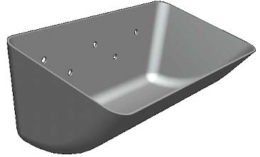 S-Type Seamless Steel Elevator Buckets