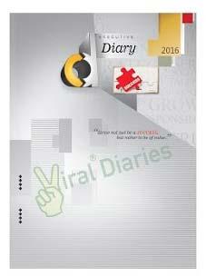 2016 Diaries