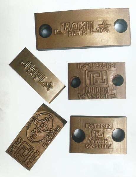 Manual Steel Stamps