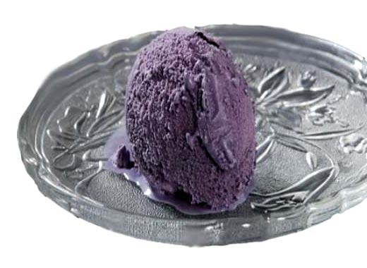 Black Current Ice Cream