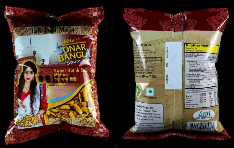 Bittu's Sonar Bangla Sweet & Spicy Mixture