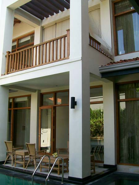 Wooden balcony stairway manufacturer supplier in sri lanka for Balcony designs pictures sri lanka