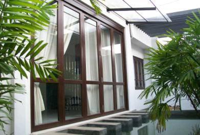 Wooden french window wooden folding window wooden windows for Window design photos sri lanka