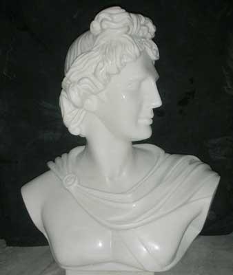 Stone European Figures