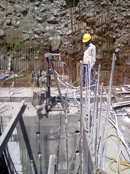 Hydro Project Diamond Core Drilling
