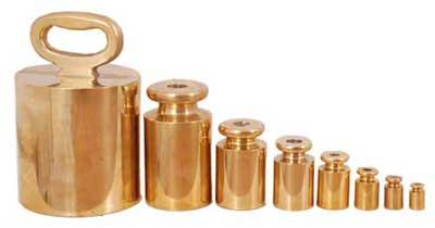 Brass Weights 02