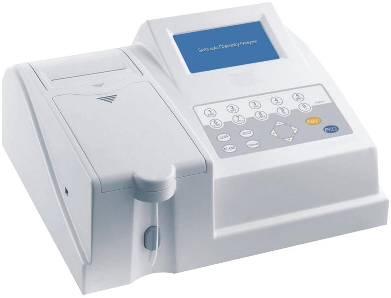 Semi Automatic Biochemistry Analyzer (SB 250)
