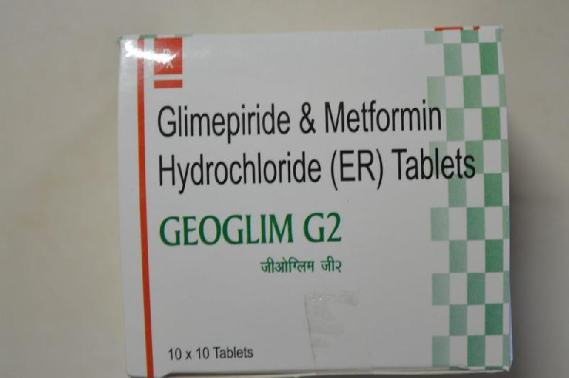 Glimepiride Combiantion Tablets 02