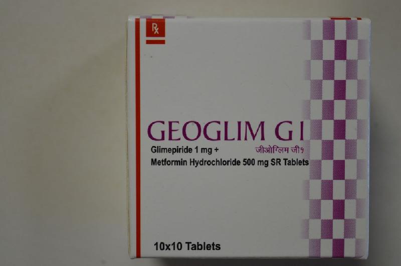 Glimepiride Combiantion Tablets 03