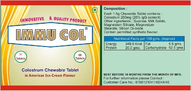 Immu Col Tablets