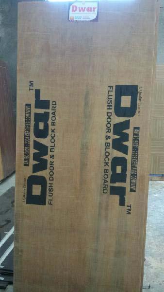 Hardwood Flush Door