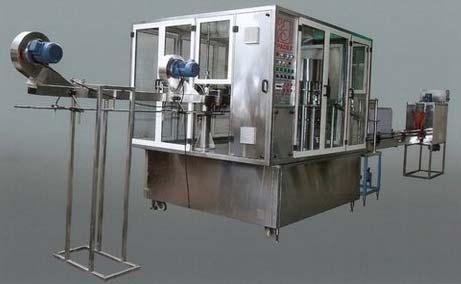 Rotary Automatic Bottle Filling Machine